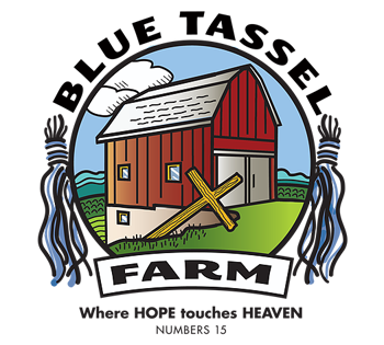 Blue Tassel Farm Logo